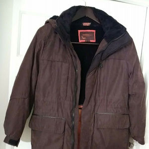 HAWKE & CO. OUTFITTER Boy's 10-12 BROWN JACKET